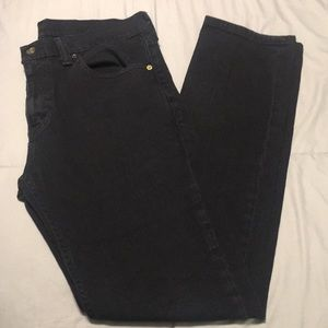 Black Levi's Slim Fit 511 Jeans